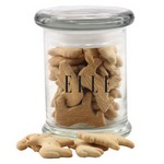 Jar ith Animal Crackers