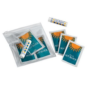Sunscreen Kit with Lip Balm