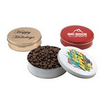 Gift Tin with Chocolate Covered Raisins