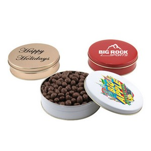 Gift Tin with Chocolate Covered Peanuts
