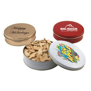 Gift Tin with Animal Crackers