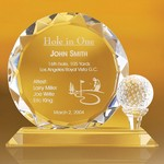 Fairborn Award on a Flat Base Teed Golf Ball