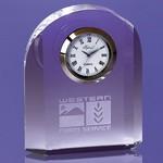 Oakwood Arch Like Award Embedded Clock