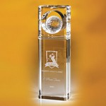 Timblin Rectangular Golf Top Trophy