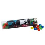 Tube with M&M's