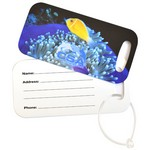 Rectangle Metal Luggage Tag - Full Color