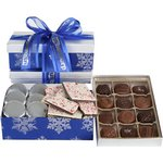 Holiday Tower - Assorted Chocolates, Sandwich Cookies & Chocolate
