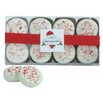 White Chocolate Peppermint Oreo Cookies - 8 Piece Box