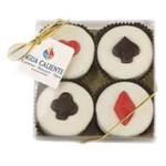 Casino Collection - 4 Piece Chocolate Covered Oreo Cookies