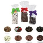 Gourmet Gift Bags - Foil Wrapped Milk Chocolate Oreo Cookies