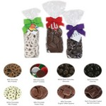 Gourmet Gift Bags - Milk Chocolate Pretzel Rings