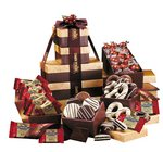 Chocolate Gift Tower- Individually Wrapped Treats