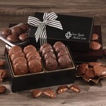 Chocolate Splendor with Pecan Turtles & Sea Salt Almond Turtles