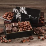 Chocolate Splendor with Chocolate Sea Salt Caramels & Chocolate Covered Almonds