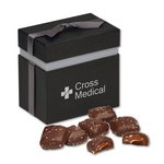 Chocolate Sea Salt Caramels in Elegant Treats Gift Box