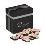 Peppermint Bark in Elegant Treats Gift Box