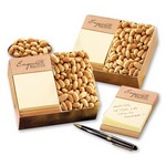 Post-it Note Holder with Choice Virginia Peanuts