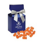 Prosecco Gummy Bears in Metallic Blue Gift Box