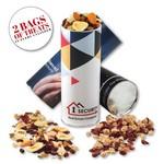 cyl-in-der with Western Trail Mix & Cranberry Walnut Mix