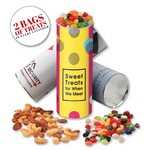 cyl-in-der with Jelly Belly - Jelly Beans & Deluxe Mixed Nuts