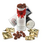 cyl-in-der with Cocoa Dusted Truffles