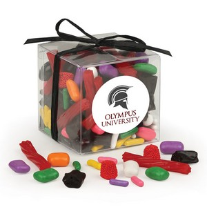 Stylish Acetate Cube with Licorice Lovers Mix