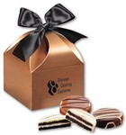 Chocolate Covered Oreo® Cookies in Copper Gift Box