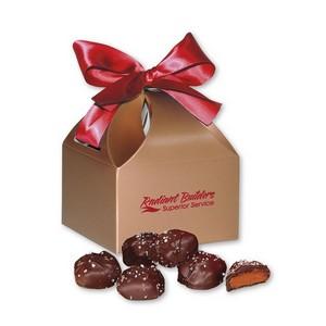 Chocolate Sea Salt Caramels in Classic Treats Gift Box