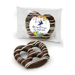 Dark Chocolate Dipped Pretzel Individually Wrapped