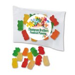 Custom Labeled Gummy Bears Individual Treat Bags