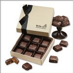 Chocolate Elegance with Chocolate Sea Salt Caramels