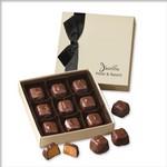 Chocolate Elegance with Barrel-Aged Bourbon Caramels