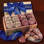 Toffee & Turtles in Gold Gift Box - Blue Ribbon