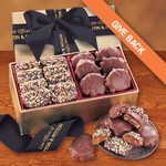 Toffee & Turtles in Gold Gift Box - Black Ribbon