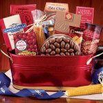 Deluxe Office Party Business Gift Basket