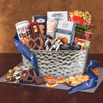 Epicurean Feast Gourmet Gift Basket - Blue Ribbon