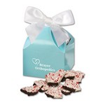 Peppermint Bark in Robin's Egg Blue Classic Treats Gift Box