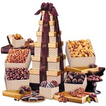 Golden Delights Gift Tower