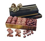 English Butter Toffeee, Pecan Turtles and Chocolate Almonds Gift