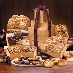 Ultimate Cookie & Brownie Tower FREE SHIPPING