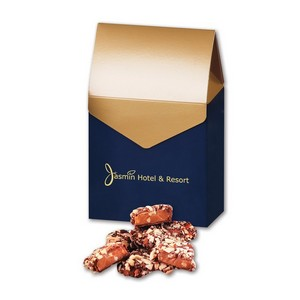 English Butter Toffee in Gable Top Gift Box