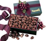 Milk Chocolate Covered Almonds in Forest Green Gift Box