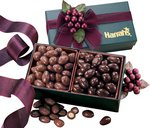 Milk & Dark Chocolate Almonds in Forest Green Gift Box