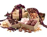 Chocolate, Candy and Nuts Gift Tower of Favorites