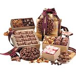 Chocolate, Candy and Nuts Supreme Sampler Gift Tower