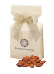 Mediterranean Style Almonds in Ivory Gift Box with Your Logo