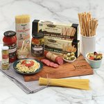 Italian Feast with Carving Board