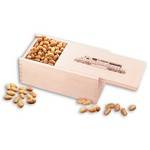 Choice Virginia Peanuts in Wooden Gift Box