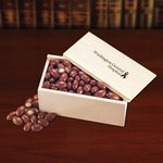 Chocolate Covered Almonds in Wooden Gift Box