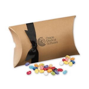 Jelly Belly  Jelly Beans in Kraft Pillow Pack Box